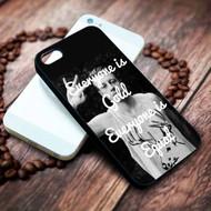 Macklemore Quotes Custom on your case iphone 4 4s 5 5s 5c 6 6plus 7 case / cases