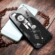 Angus Young ACDC Custom Iphone 4 4s 5 5s 5c 6 6plus 7 case / cases