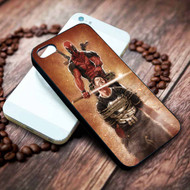 Deadpool Kills Punisher Custom on your case iphone 4 4s 5 5s 5c 6 6plus 7 case / cases