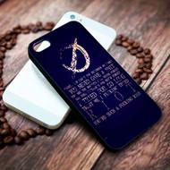 Leathermouth Quotes Custom Iphone 4 4s 5 5s 5c 6 6plus 7 case / cases