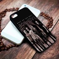 Bon Jovi Custom on your case iphone 4 4s 5 5s 5c 6 6plus 7 case / cases