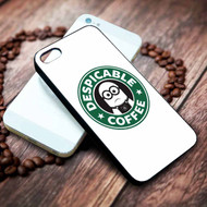 Despicable minions coffee Custom on your case iphone 4 4s 5 5s 5c 6 6plus 7 case / cases