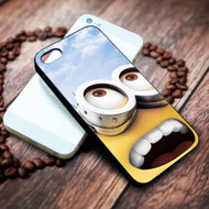 Minion Big Eyes Despicable Me Custom Iphone 4 4s 5 5s 5c 6 6plus 7 case / cases