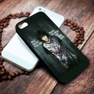 Oliver Sykes Bring Me The Horizon- Drown Custom on your case iphone 4 4s 5 5s 5c 6 6plus 7 case / cases