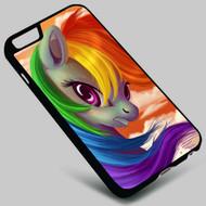 Rainbow Dash My Little Pony (2) Iphone 4 4s 5 5s 5c 6 6plus 7 Samsung Galaxy s3 s4 s5 s6 s7 HTC Case