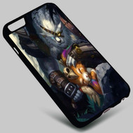 Rengar and Gnar League of Legends Iphone 4 4s 5 5s 5c 6 6plus 7 Samsung Galaxy s3 s4 s5 s6 s7 HTC Case