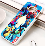 Big Hero 6 Poster Custom Samsung Galaxy S3 S4 S5 S6 S7 Case