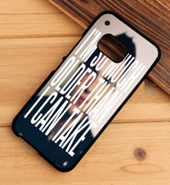 All These Thing that I've Done The Killers Lyrics Custom HTC One X M7 M8 M9 Case