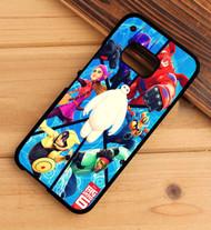 Big Hero 6 Poster Custom HTC One X M7 M8 M9 Case