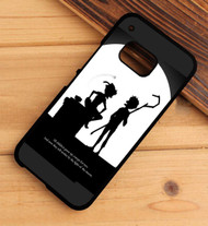 Peter Pan and Jack Frost Silhouette Custom HTC One X M7 M8 M9 Case