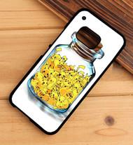 Pikachu In The Bottle Custom HTC One X M7 M8 M9 Case