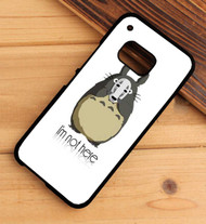 Totoro With No Face Mask Spirited Away Custom HTC One X M7 M8 M9 Case