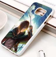 Armin Arlert Attack on Titan Custom Samsung Galaxy S3 S4 S5 S6 S7 Case