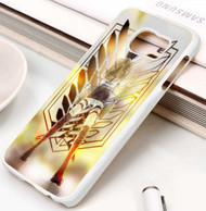 Attack on Titan Shingeki No Kyojin Eren Jaeger Custom Samsung Galaxy S3 S4 S5 S6 S7 Case