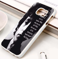 Bob Dylan Quotes Custom Samsung Galaxy S3 S4 S5 S6 S7 Case