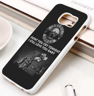 Guns 'n Roses Quotes  Custom Samsung Galaxy S3 S4 S5 S6 S7 Case