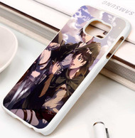 Rivaille And Eren Jaeger Attack on Titan Custom Samsung Galaxy S3 S4 S5 S6 S7 Case