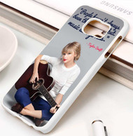 Taylor Swift Quotes Custom Samsung Galaxy S3 S4 S5 S6 S7 Case