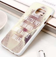 Taylor Swift Sad Beautiful Tragic Lyrics Custom Samsung Galaxy S3 S4 S5 S6 S7 Case