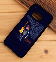 Bruce Springsteen Quotes Custom HTC One X M7 M8 M9 Case