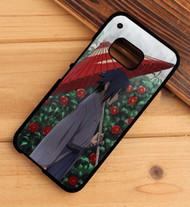Naruto Sasuke Custom HTC One X M7 M8 M9 Case