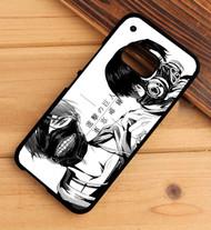 Shingeki No Kyojin and Tokyo Ghoul Custom HTC One X M7 M8 M9 Case