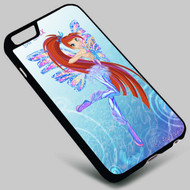 The Winx Club Bloom Sirenix on your case iphone 4 4s 5 5s 5c 6 6plus 7 Samsung Galaxy s3 s4 s5 s6 s7 HTC Case