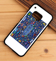 Disney Pixar Collage Custom HTC One X M7 M8 M9 Case