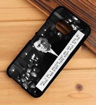 Sam Smith Lay Me Down Lyrics Custom HTC One X M7 M8 M9 Case