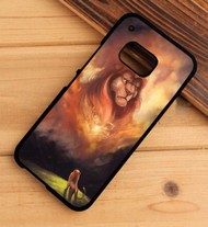 The Lion King Simba And Father Custom HTC One X M7 M8 M9 Case