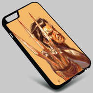 Wolverine X-Men Marvel on your case iphone 4 4s 5 5s 5c 6 6plus 7 Samsung Galaxy s3 s4 s5 s6 s7 HTC Case