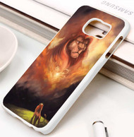The Lion King Simba And Father Custom Samsung Galaxy S3 S4 S5 S6 S7 Case
