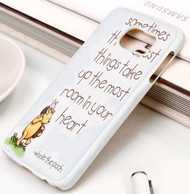 Winnie The Pooh Quotes 3 Custom Samsung Galaxy S3 S4 S5 S6 S7 Case