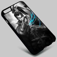 Yasuo League of Legends on your case iphone 4 4s 5 5s 5c 6 6plus 7 Samsung Galaxy s3 s4 s5 s6 s7 HTC Case