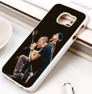 Mike Shinoda and Chester Bennington Linkin Park Custom Samsung Galaxy S3 S4 S5 S6 S7 Case
