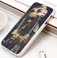 Wiz Khalifa Custom Samsung Galaxy S3 S4 S5 S6 S7 Case