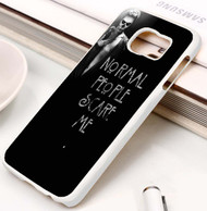 American Horror Story Normal People Scare Me Custom Samsung Galaxy S3 S4 S5 S6 S7 Case