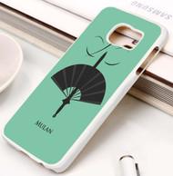 Disney Mulan Custom Samsung Galaxy S3 S4 S5 S6 S7 Case