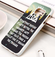 Miss Missing You - Fall Out Boy Lyrics Custom Samsung Galaxy S3 S4 S5 S6 S7 Case