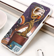 Baby Groot Guardians Of The Galaxy Custom Samsung Galaxy S3 S4 S5 S6 S7 Case