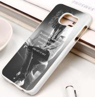 Mayday Parade Quotes Custom Samsung Galaxy S3 S4 S5 S6 S7 Case