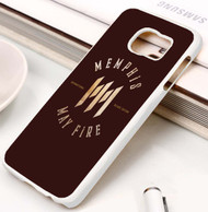 Memphis May Fire Unconditional Deluxe Edition Cover Custom Samsung Galaxy S3 S4 S5 S6 S7 Case