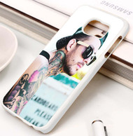 Mike Fuentes- Pierce the Veil Custom Samsung Galaxy S3 S4 S5 S6 S7 Case