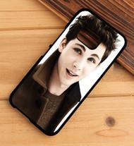 Logan Lerman 2 Custom HTC One X M7 M8 M9 Case