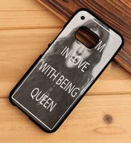 Lorde Lyrics Custom HTC One X M7 M8 M9 Case