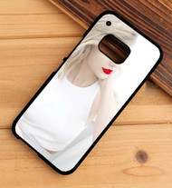Taylor Swift Red Lips Custom HTC One X M7 M8 M9 Case