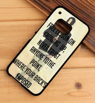 A Day to Remember Quotes Custom HTC One X M7 M8 M9 Case