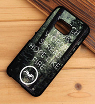 Angels & Airwaves Quotes Custom HTC One X M7 M8 M9 Case