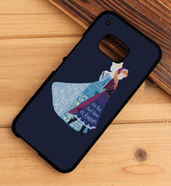 Anna And Elsa Frozen Quotes Custom HTC One X M7 M8 M9 Case