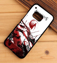 Assassins Creed Water Color Custom HTC One X M7 M8 M9 Case